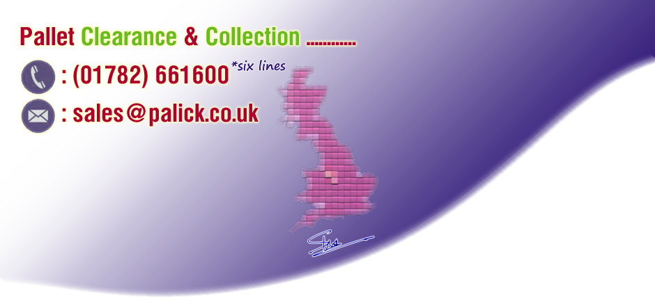 UK New and Used Pallet Distributor, Clearance and Collection - Palick Limited